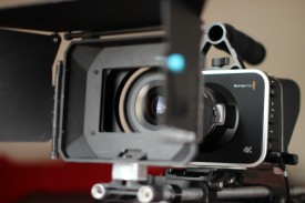 My 4K Blackmagic Production Camera