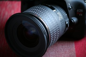 The Sigma 20mm/f1.8 on my Canon 600D