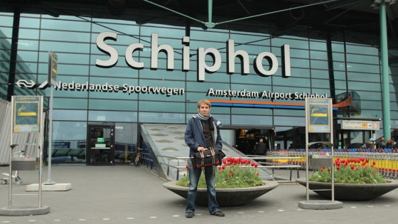 Amsterdam's Schiphol Airport. Photo: Colin Smith