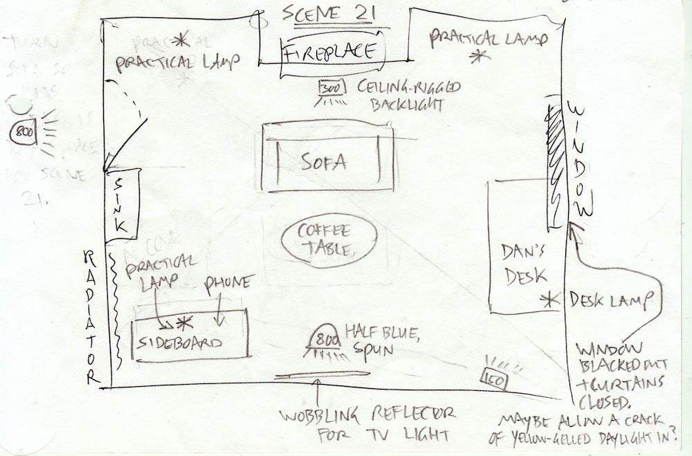 Lighting plan for living room living room for Living room plan