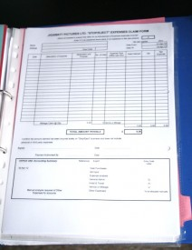 Expenses forms