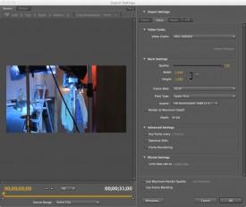 Step 1: Converting to 1080i60 Quicktimes using Adobe Media Encoder