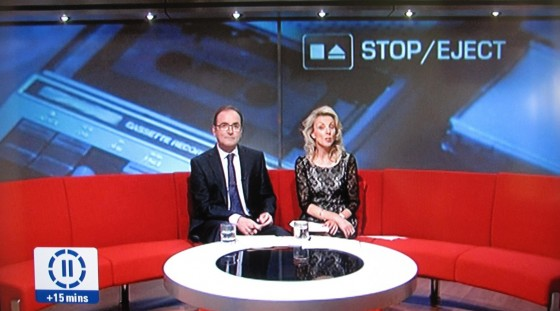 Stop/Eject on BBC East Midlands Today