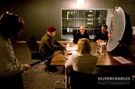 "Filming at ""GCHQ"""