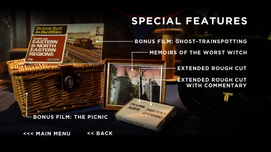 Blu-ray Special Features menu page 2