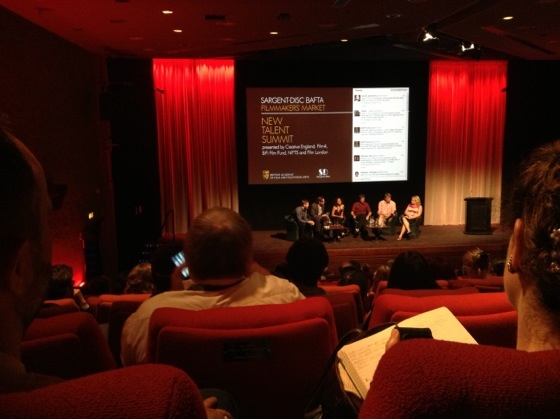 The New Talent Summit at the Princess Anne Theatre, Bafta