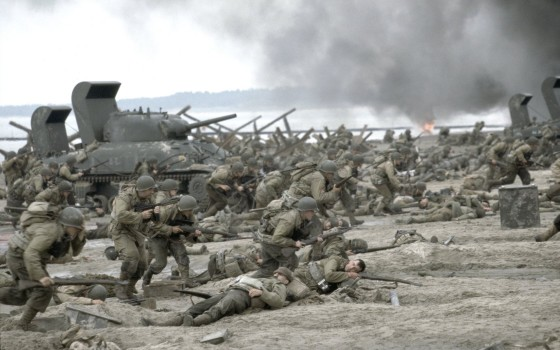 Saving Private Ryan's Normandy beach sequence uses a decreased shutter interval