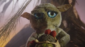 The tarsier puppet in Droplets