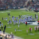 A classic tilt-shift photograph