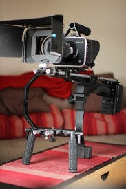 My BMPC on a Pro-Aim shoulder rig