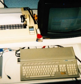 My Atari ST, circa 1996