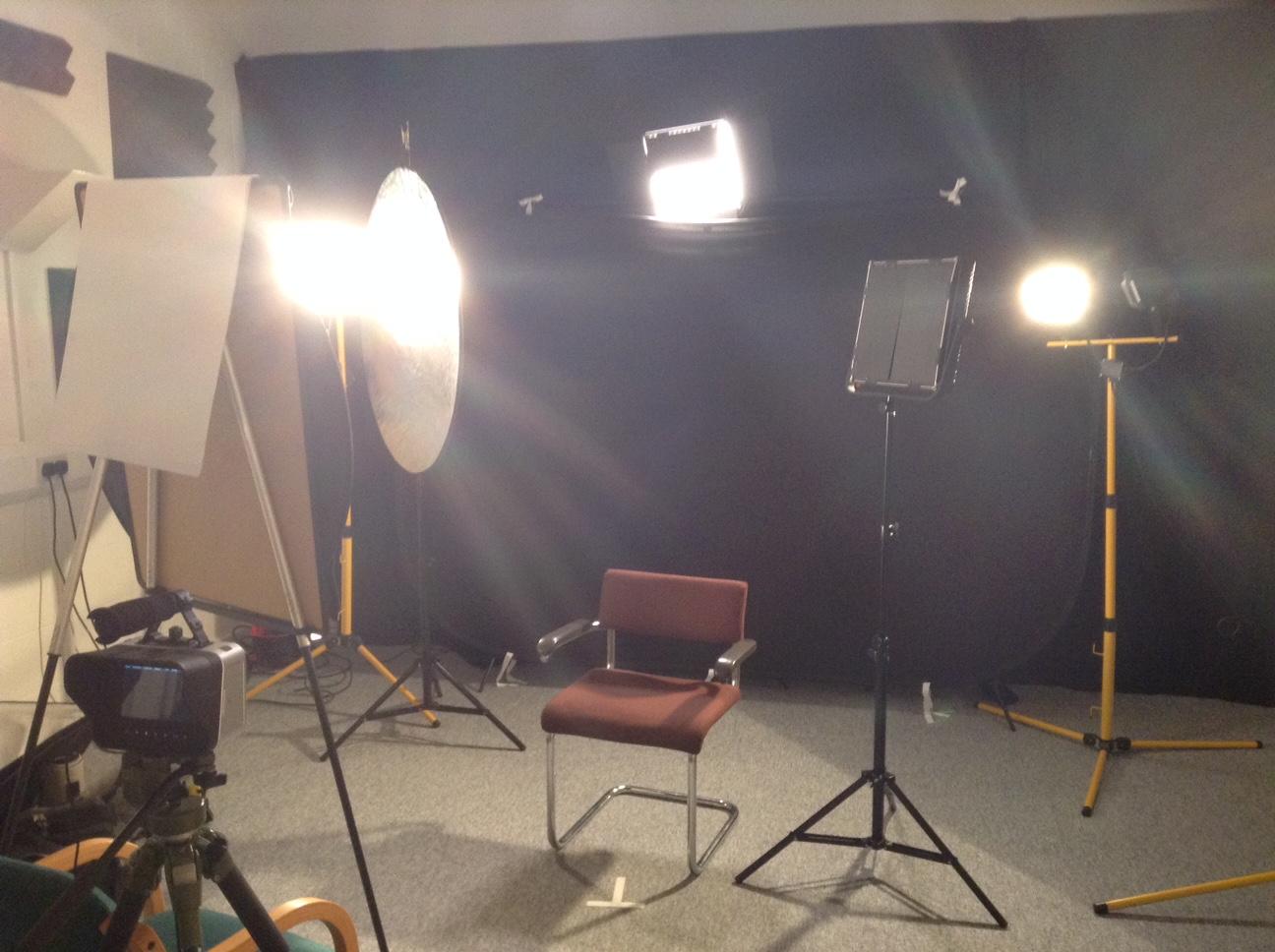 diy interview lighting for the ren epk neil oseman