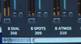 Some of the buses in the Logic mix of Soul Searcher