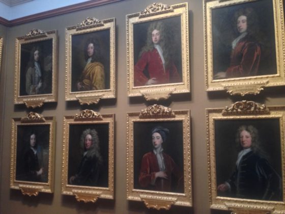 An array of broad key paintings at the National Portrait Gallery