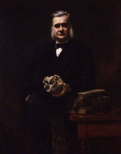 NPG 3168; Thomas Henry Huxley by John Collier