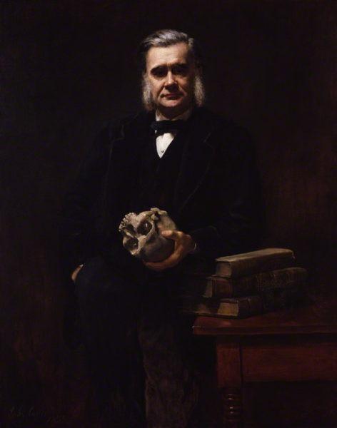 NPG 3168; Thomas Henry Huxley by John Collier