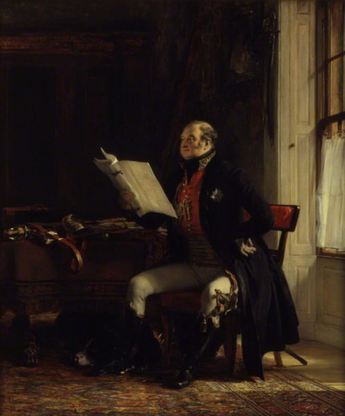 by Sir David Wilkie, oil on panel, 1822-1823, dated 1823
